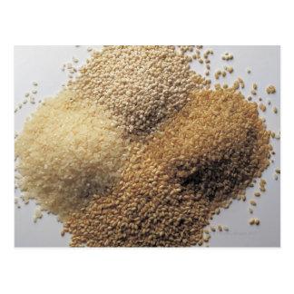 Assortment of grains postcard