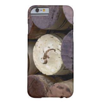 Assortment of used corks, macro. The corks have Barely There iPhone 6 Case