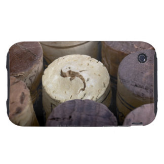 Assortment of used corks, macro. The corks have Tough iPhone 3 Cases