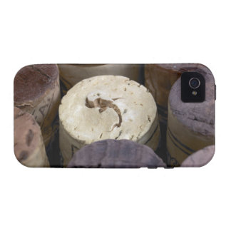 Assortment of used corks macro The corks have Case-Mate iPhone 4 Case