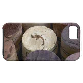Assortment of used corks, macro. The corks have iPhone 5 Case