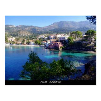 Assos - Kefalonia Postcard
