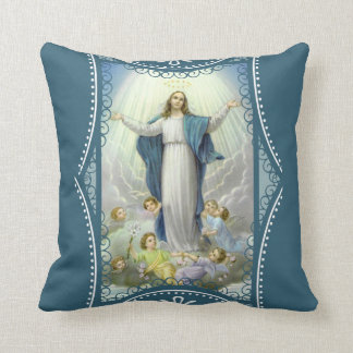 Assumption of the Blessed Virgin Mary Angels Cushion