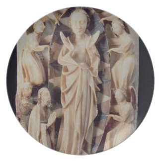 Assumption of the Virgin (alabaster) Party Plate