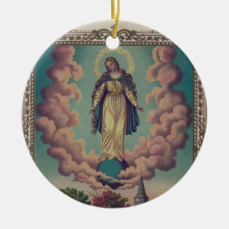 Assumption of the Virgin Mary Christmas Ornament