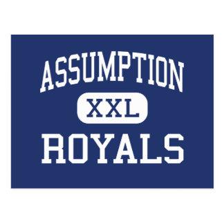 Assumption - Royals - High - Wisconsin Rapids Postcard