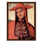 Assumption With Four Saints  By Perugino Pietro Postcard