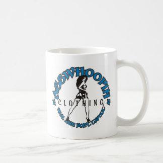 asswhoopin girl design glassware basic white mug