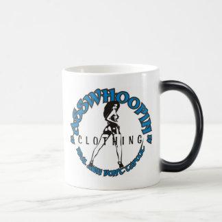 asswhoopin girl design glassware morphing mug