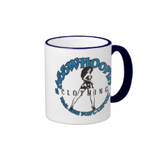 asswhoopin girl design glassware ringer mug