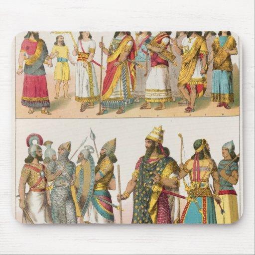 Assyrian Dress, from 'Trachten der Voelker', 1864 Mouse Pad