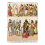Assyrian Dress, from 'Trachten der Voelker', 1864 Post Cards