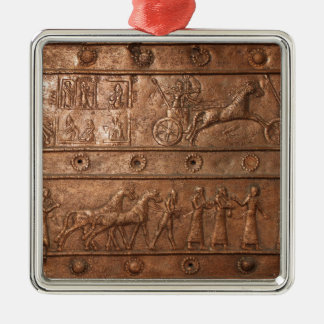 Assyrian Gate Christmas Ornament