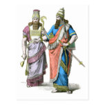 Assyrian High Priest and King Post Cards