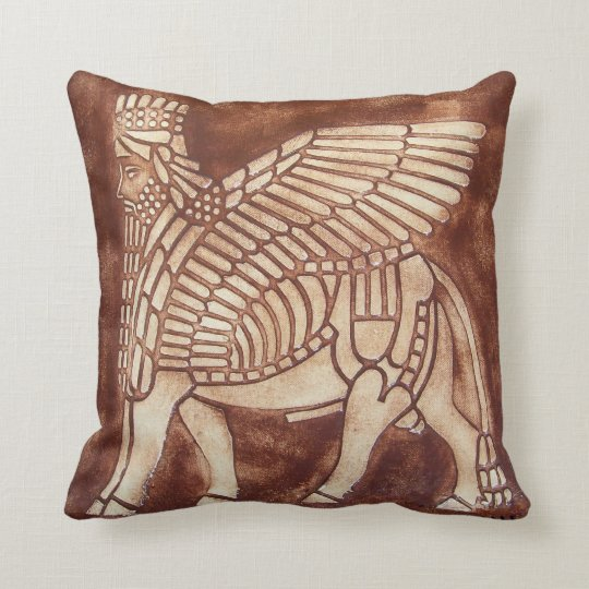 Assyrian Lamassu Cushion