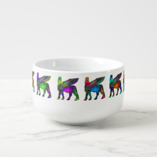 Assyrian ( Lamassu) Soup Mug