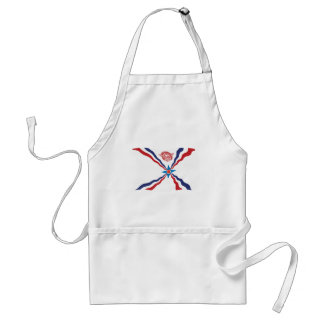Assyrian Nation Flag Apron