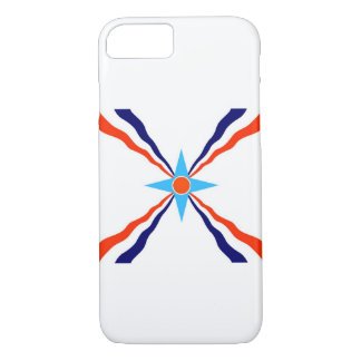 assyrian people ethnic flag iPhone 7 case
