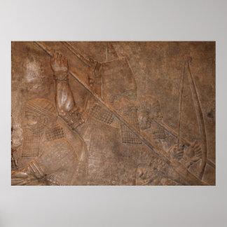 Assyrian Warriors Poster