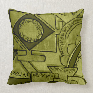 Astar Olive Green Cushion