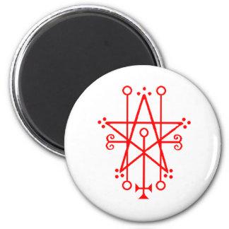 Astaroth Demon Sigil Gothic magnet