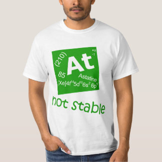 Astatine T-Shirt - Smart Chemistry