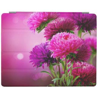 Aster Autumn Flowers Art Design iPad Cover