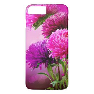 Aster Autumn Flowers Art Design iPhone 8 Plus/7 Plus Case