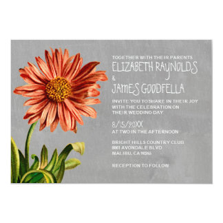 Aster Wedding Invitations