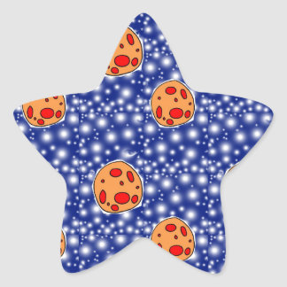 asteriods star sticker