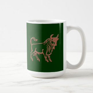 Asterisk bull zodiac sign Taurus Coffee Mug