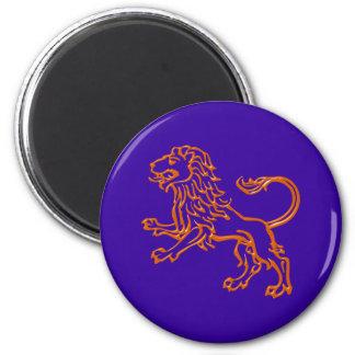 Asterisk lion zodiac sign Leo Magnet