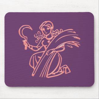 Asterisk virgin zodiac sign Virgo Mouse Pads