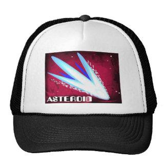 Asteroid Fiery Night Trucker Hats