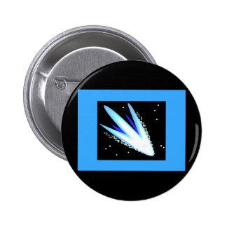 Asteroid In Cerulean Blue Pins