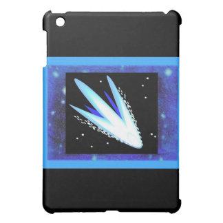 Asteroid With Layered Midnight Blue Stars iPad Mini Covers