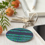 """Asteroids for Siera"":keychain-Opt to personalise Basic Round Button Key Ring"