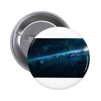 Asteroids Pinback Button