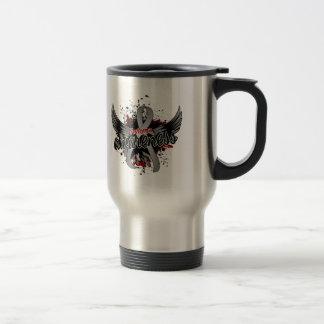 Asthma Awareness 16 Stainless Steel Travel Mug