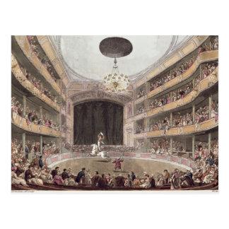 Astley's Amphitheatre from Ackermann's Postcard