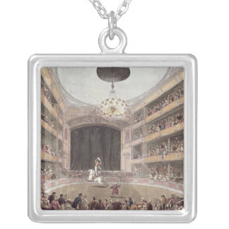 Astley's Amphitheatre from Ackermann's Silver Plated Necklace