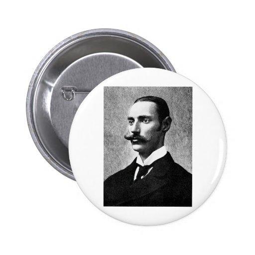 Astor IV ~ John Jacob Capitalist Inventor 6 Cm Round Badge