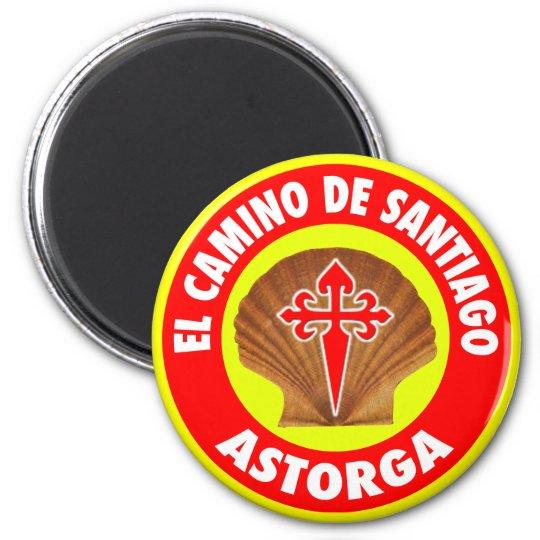 Astorga 6 Cm Round Magnet