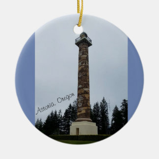 Astoria Column in Oregon Ornament