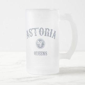 Astoria Frosted Glass Beer Mug