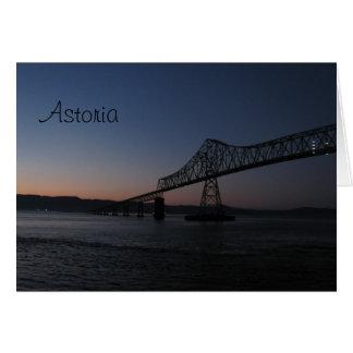 Astoria-Megler Bridge, Oregon Card