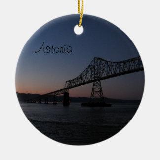 Astoria-Megler Bridge, Oregon Christmas Ornament