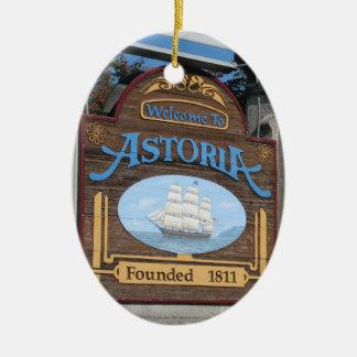 Astoria, Oregon Christmas Ornament