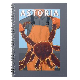 Astoria, OregonKing Crab Notebook