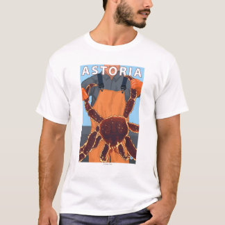 Astoria, OregonKing Crab T-Shirt